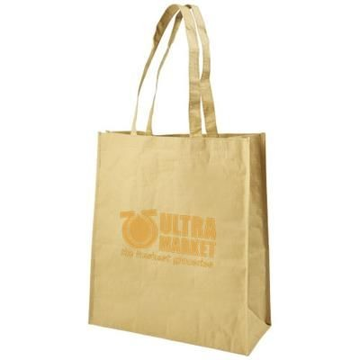 Picture of PAPYRUS PAPER WOVEN TOTE in Natural