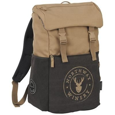 Picture of VENTURE 15 LAPTOP BACKPACK RUCKSACK in Beige-anthracite