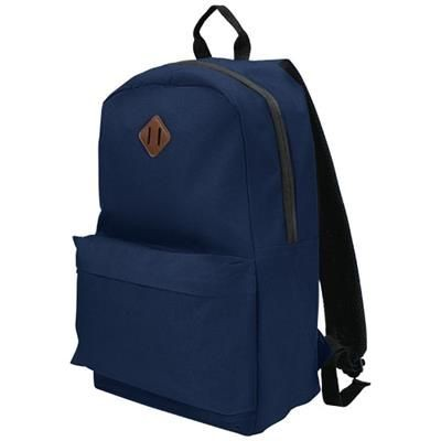 Picture of STRATTA 15 LAPTOP BACKPACK RUCKSACK in Navy