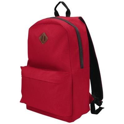 Picture of STRATTA 15 LAPTOP BACKPACK RUCKSACK in Red