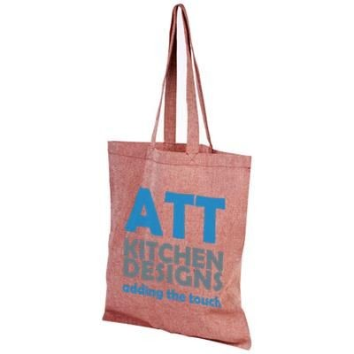 Picture of PHEEBS 150 G-M² RECYCLED COTTON TOTE BAG in Red