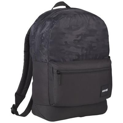 Picture of FOUNDER BACKPACK RUCKSACK in Black Solid
