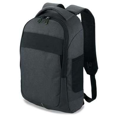 Picture of POWER-STRECH 15 Laptop Backpack Rucksack in Black Solid