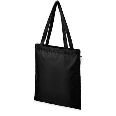 Picture of SAI RPET TOTE BAG in Black Solid