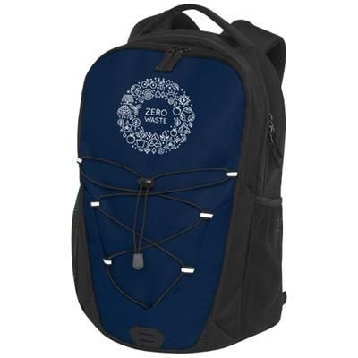 Picture of TRAILS BACKPACK RUCKSACK in Navy & Solid Black
