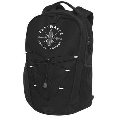 Picture of TRAILS BACKPACK RUCKSACK in Solid Black