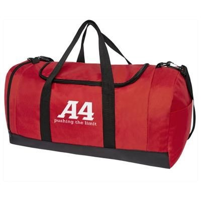 Picture of STEPS DUFFLE BAG in Red