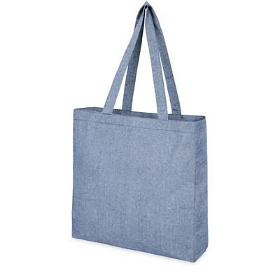 Picture of PHEEBS RECYCLED COTTON TOTE BG in Heather Blue