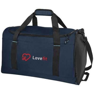 Picture of BAIKAL GRS RPET DUFFLE BAG in Navy