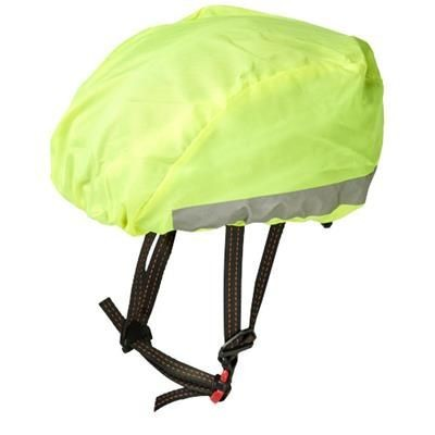 Picture of ANDRÉ REFLECTIVE AND WATERPROOF HELMET COVER in Neon Fluorescent Yellow