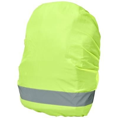 Picture of WILLIAM REFLECTIVE AND WATERPROOF BAG COVER in Neon Fluorescent Yellow
