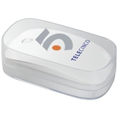 Picture of MENLO CORDLESS MOUSE in White Solid