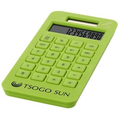 Picture of SUMMA POCKET CALCULATOR in Apple Green