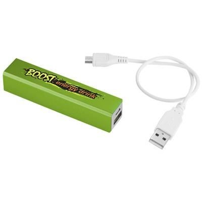 Picture of VOLT 2200 MAH POWER BANK in Lime