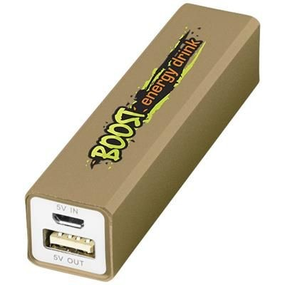 Picture of VOLT 2200 MAH POWER BANK in Gold