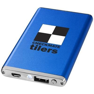 Picture of TAYLOR 2200 MAH POWER BANK in Royal Blue