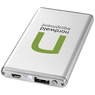 Picture of TAYLOR 2200 MAH POWER BANK in Silver