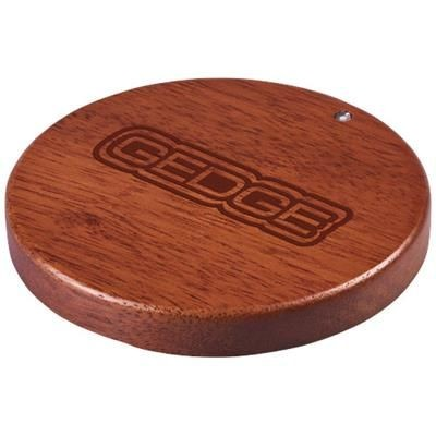 Picture of BORA WOOD CORDLESS CHARGER PAD in Wood