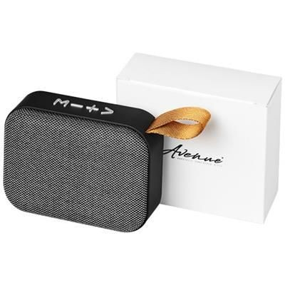 Picture of FASHION FABRIC BLUETOOTH® SPEAKER in Grey