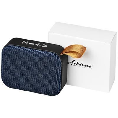 Picture of FASHION FABRIC BLUETOOTH® SPEAKER in Royal Blue