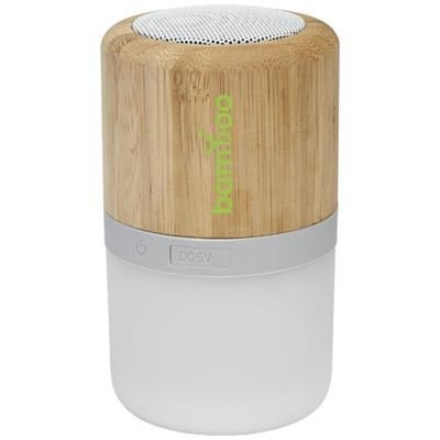 Picture of AUREA BAMBOO BLUETOOTH® SPEAKER with Light in Wood