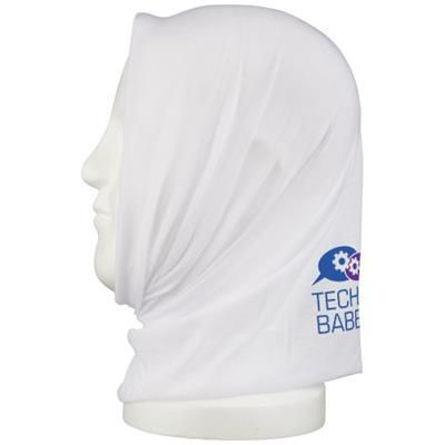 Picture of LUNGE HEAD BAND BANDANA in White Solid