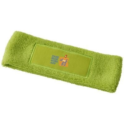 Picture of ROGER FITNESS HEAD BAND in Lime