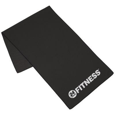 Picture of ALPHA FITNESS TOWEL in Black Solid
