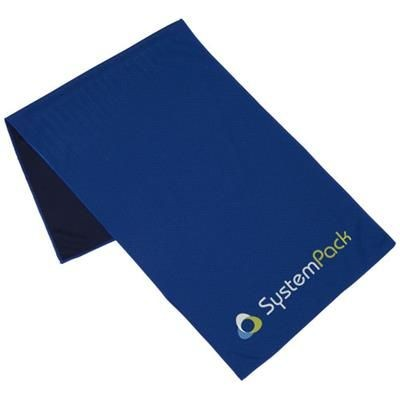 Picture of ALPHA FITNESS TOWEL in Royal Blue