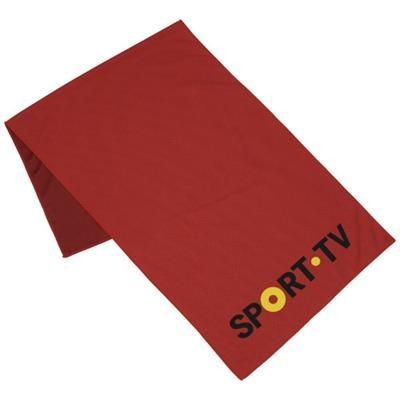 Picture of ALPHA FITNESS TOWEL in Red