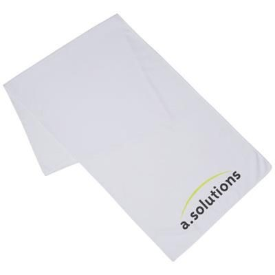 Picture of ALPHA FITNESS TOWEL in White Solid