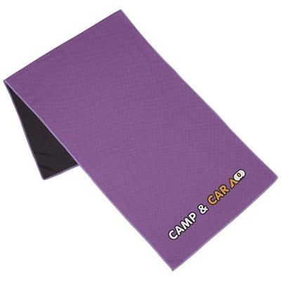 Picture of ALPHA FITNESS TOWEL in Purple