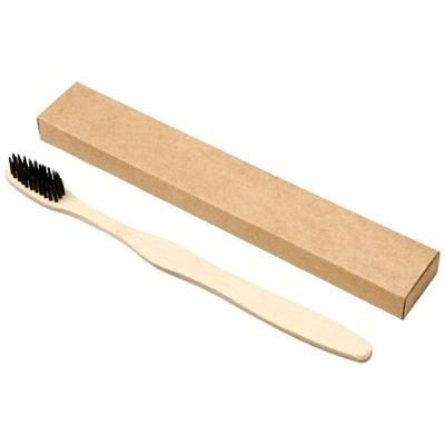 Picture of CELUK BAMBOO TOOTHBRUSH in Black Solid