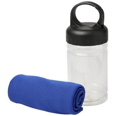Picture of REMY COOLING TOWEL in Pet Container in Royal Blue