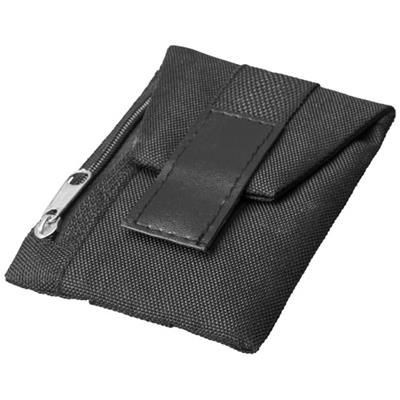 Picture of KEEPER SHOE WALLET in Black Solid