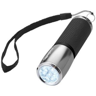 Picture of 9 LED TORCH in Silver-black Solid
