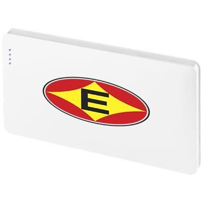 Picture of AUSTIN 4000 MAH POWER BANK in White Solid
