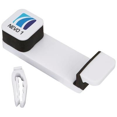 Picture of MOBILE AUTO MOBILE PHONE HOLDER in White Solid
