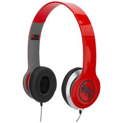 Picture of CHEAZ FOLDING HEADPHONES in Red