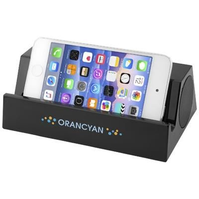 Picture of BLARE BLUETOOTH® SPEAKER AND STAND in Black Solid