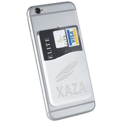 Picture of SLIM CARD WALLET ACCESSORY FOR SMARTPHONES in White Solid