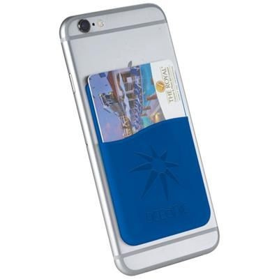 Picture of SLIM CARD WALLET ACCESSORY FOR SMARTPHONES in Royal Blue