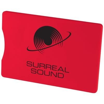 Picture of ZAFE RFID CREDIT CARD PROTECTOR in Red