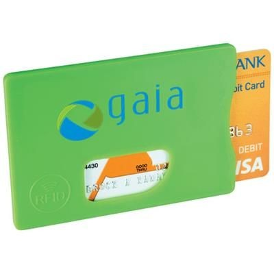 Picture of ZAFE RFID CREDIT CARD PROTECTOR in Lime