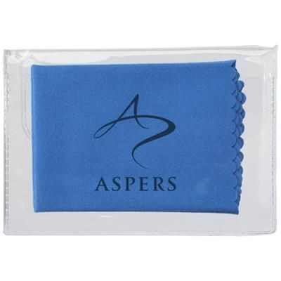Picture of MICROFIBRE CLEANING CLOTH in Case in Blue