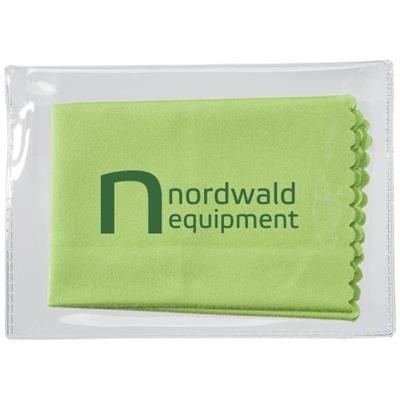 Picture of MICROFIBRE CLEANING CLOTH in Case in Lime