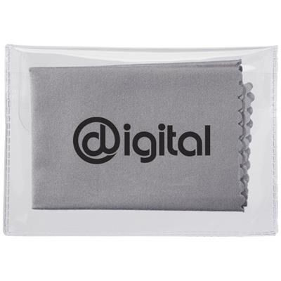 Picture of MICROFIBRE CLEANING CLOTH in Case in Grey