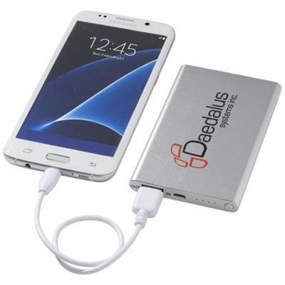 Picture of PEP 4000 MAH POWER BANK in Silver
