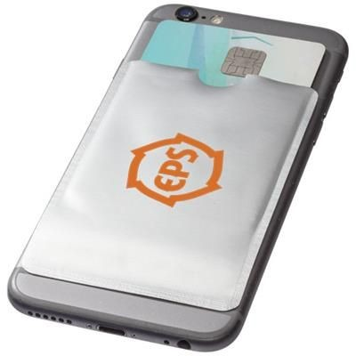 Picture of EXETER RFID SMARTPHONE CARD WALLET in Silver
