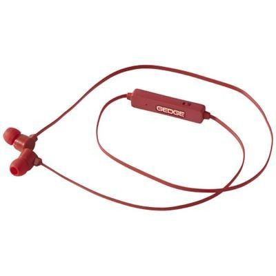 Picture of COLOURFUL BLUETOOTH® EARBUDS in Red